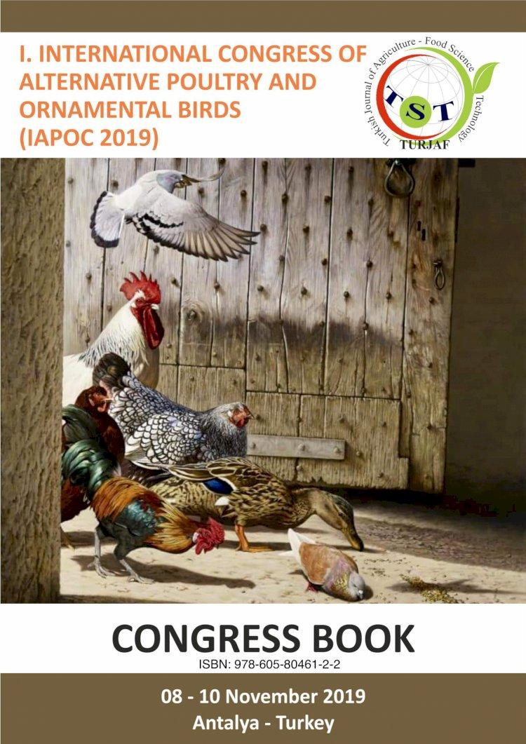 I. Uluslararası Alternatif Kümes Hayvanları ve Süs Kuşları Kongresi (DOÇ. Dr. Demir ÖZDEMİR)